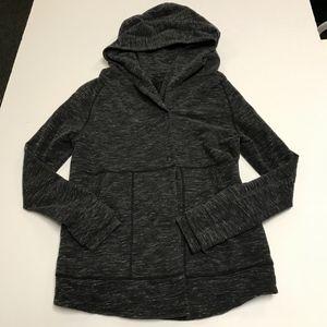 Lululemon Find Your Centre Gray Hooded Jacket Coat